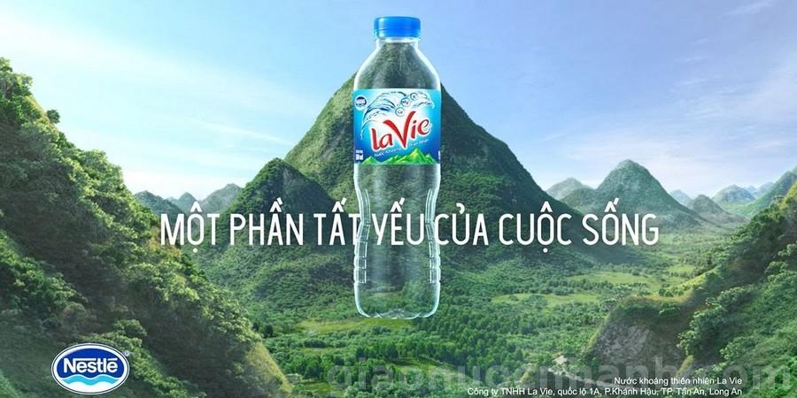 top 10 cong ty nuoc viet nam - la vie