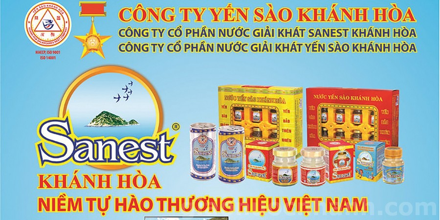 top 10 cong ty nuoc viet nam - sannest khanh hoa