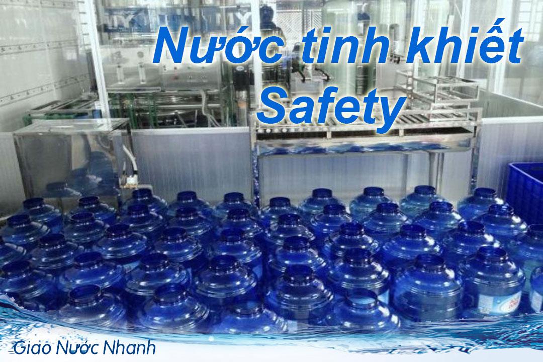 Nước tinh khiết Safety