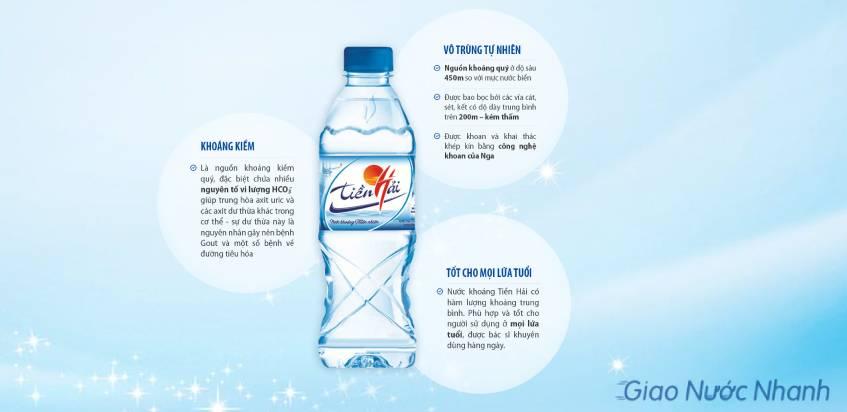 Lợi ích của nước khoáng Tiền Hải