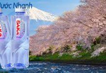 Thương hiệu nước uống ion kiềm Saka