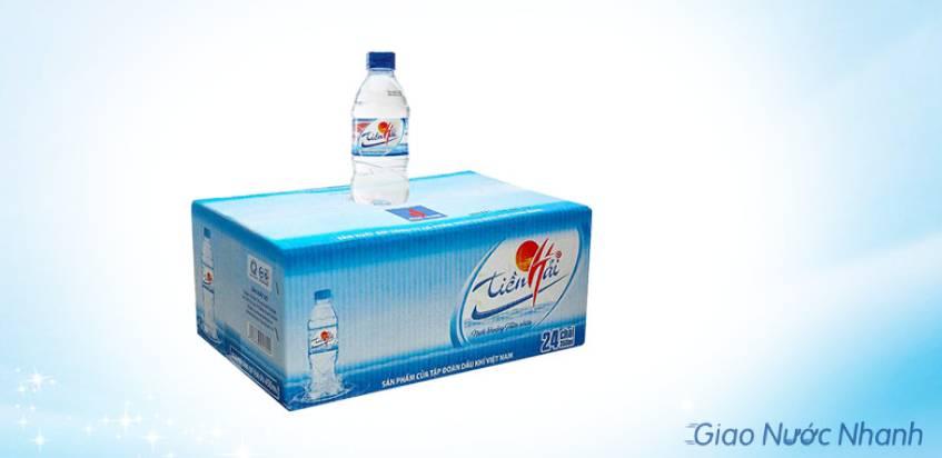 Nước suối Tiền Hải đóng chai