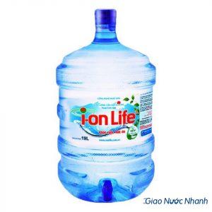 Nước kiềm ion life bình 19L có vòi