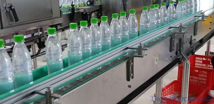 Quy trình sản xuất nước Onsen