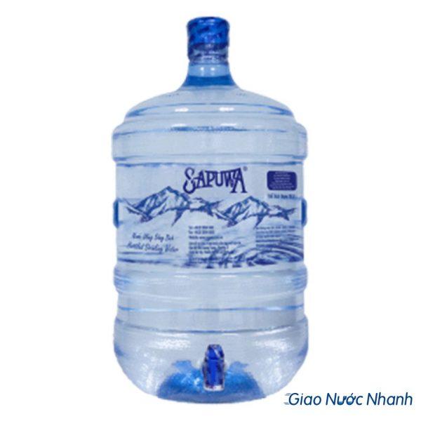 nước tinh khiết Sapuwa 19l bình vòi