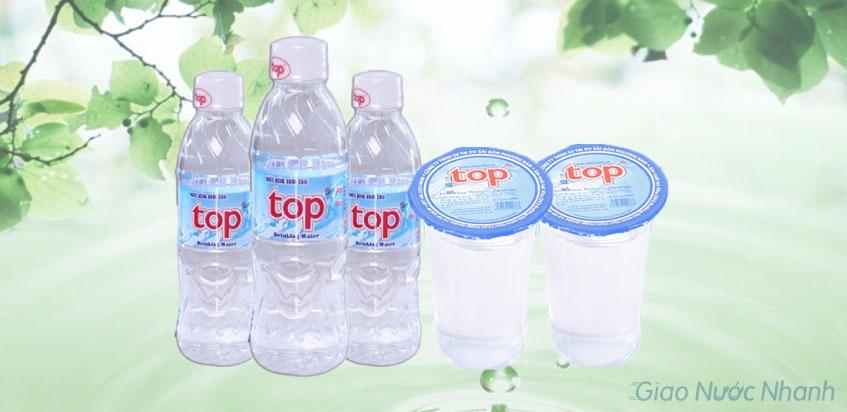 Nước tinh khiết Top đóng chai