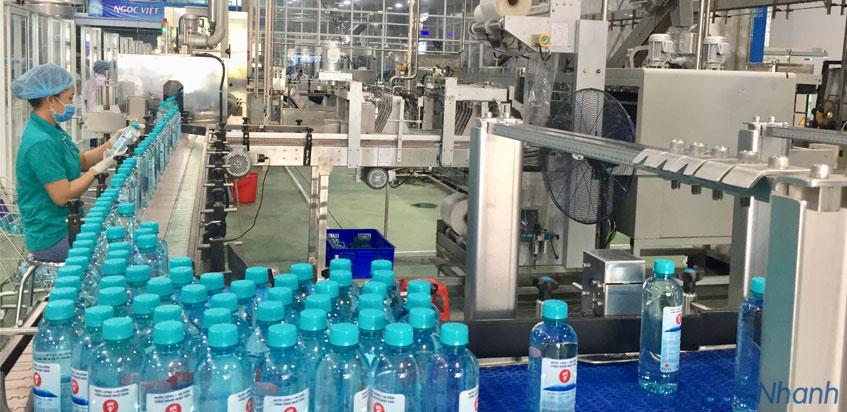 Nhà máy sản xuất nước kiềm Fujiwa