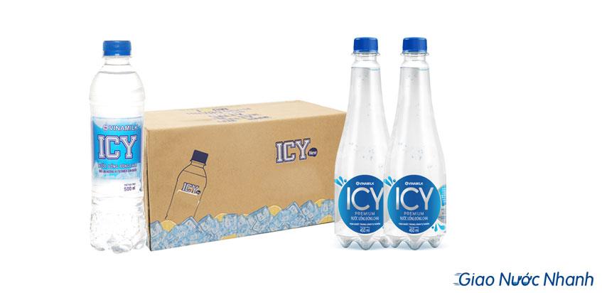 Nước ICY500ml và 450ml