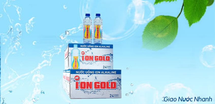 Nước Ion Gold đóng chai
