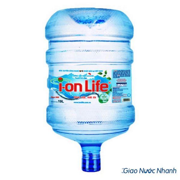 Nước ion life 19l bình úp