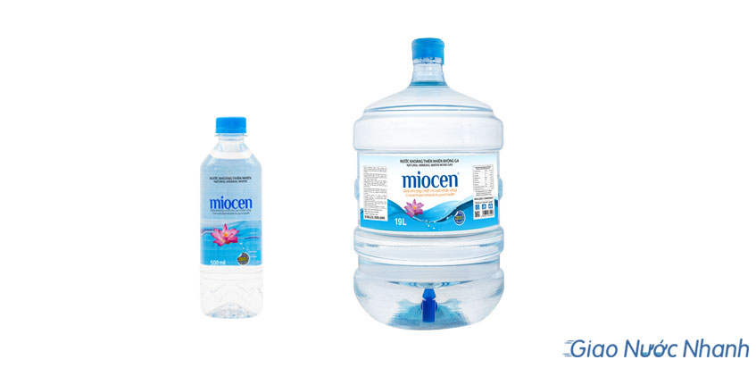 Nước Miosen đóng bình và chai