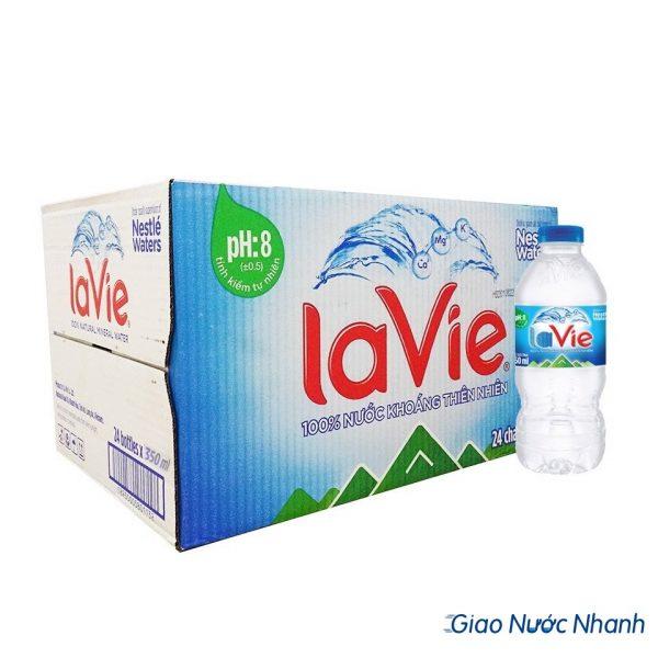 Thùng nước Lavie 350ml